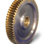 Bronze Worm-Wheel with Integral Cast Hub